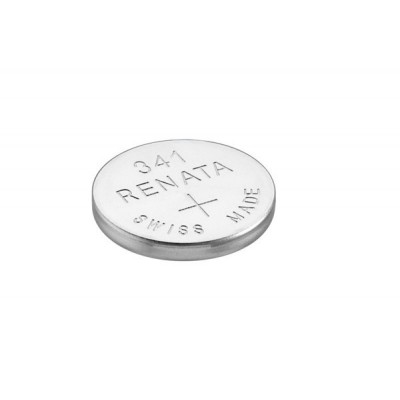 Pile bouton oxyde argent 341 RENATA 1.55V 15mAh