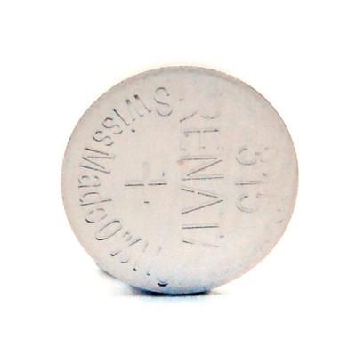 Pile bouton oxyde argent 315 RENATA 1.55V 19mAh