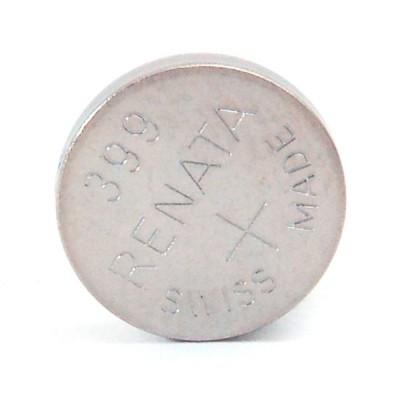 Pile bouton oxyde argent 399 RENATA 1.55V 55mAh