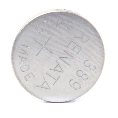Pile bouton oxyde argent 389 RENATA 1.55V 80mAh