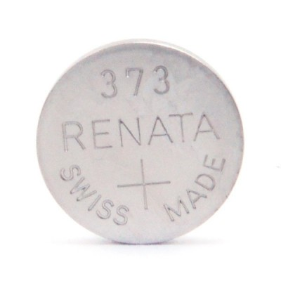 Pile bouton oxyde argent 373 RENATA 1.55V 29mAh