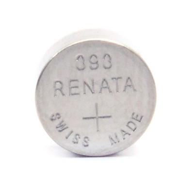 Pile bouton oxyde argent 393 RENATA 1.55V 80mAh