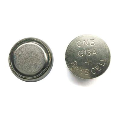 Pile bouton alcaline blister LR44 NX - 0% Hg 1.5V 145mAh