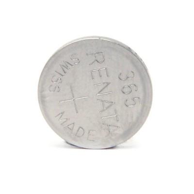 Pile bouton oxyde argent 365 RENATA 1.55V 40mAh