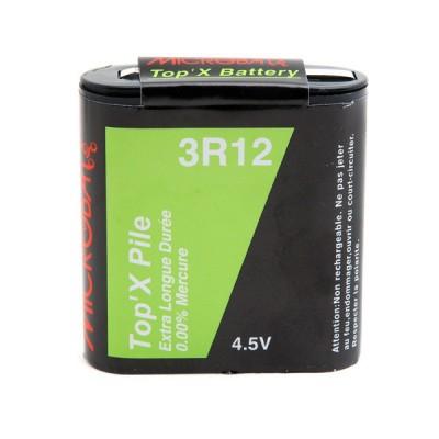 Pile saline blister 3R12 4.5V 1200mAh