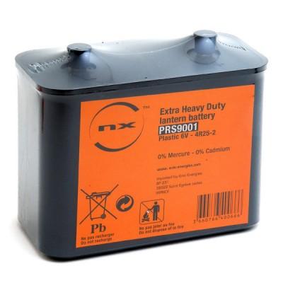 Pile saline 4R25-2 plastique NX 6V 18.3Ah