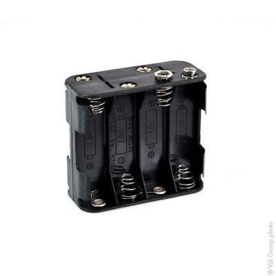 Coupleur de piles 8xR6 Cube