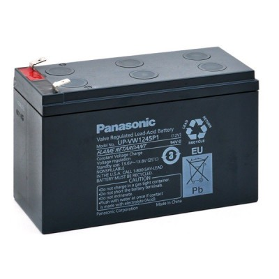 Batterie onduleur (ASI) PANASONIC UP-VW1245P1 FR 12V 8Ah F6.35