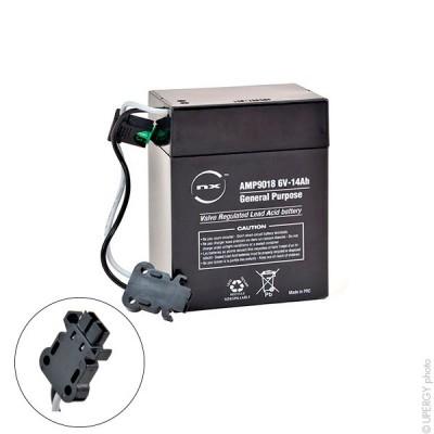 Batterie plomb AGM NX 14-6 General Purpose 6V 14Ah TH
