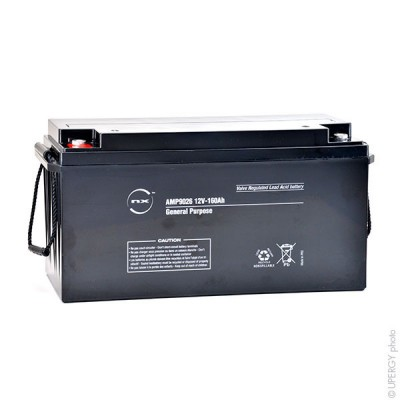 Batterie plomb AGM NX 160-12 General Purpose 12V 160Ah M8-F