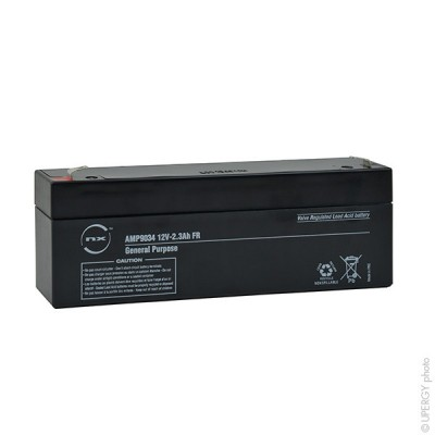 Batterie plomb AGM NX 2.3-12 General Purpose FR 12V 2.3Ah F4.8