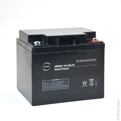 Batterie plomb AGM NX 45-12 General Purpose FR 12V 45Ah M6-F