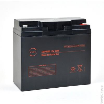 Batterie plomb AGM NX 20-12 Cyclic 12V 20Ah M5-F