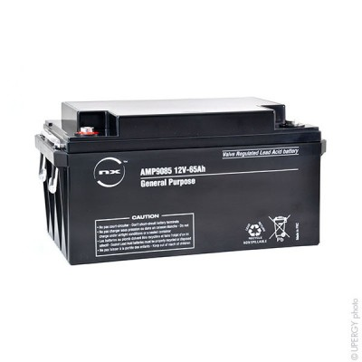 Batterie plomb AGM NX 65-12 General Purpose 12V 65Ah M6-F