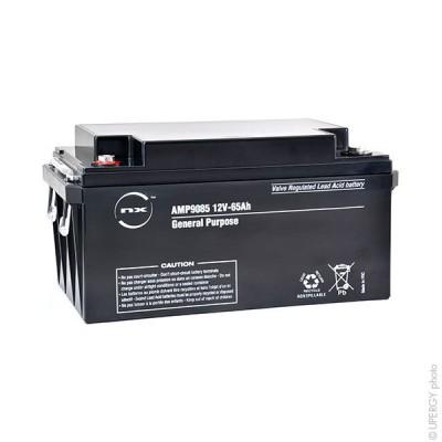 Batterie plomb AGM NX 65-12 General Purpose 12V 65Ah M6-F