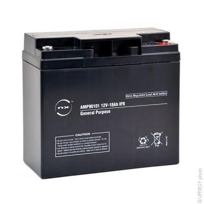 Batterie plomb AGM NX 18-12 General Purpose IFR 12V 18Ah M5-F