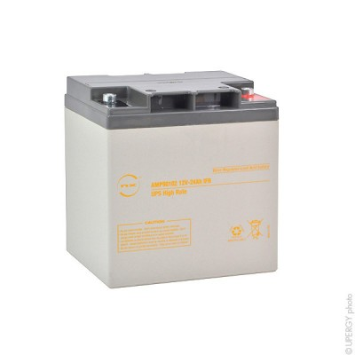 Batterie onduleur (ASI) NX 24-12 UPS High Rate IFR 12V 24Ah M5-F