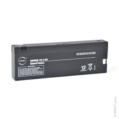 Batterie plomb AGM NX 2.3-12 General Purpose 12V 2.3Ah TU