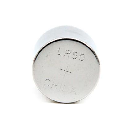 Pile bouton alcaline LR50 1.5V 580mAh vrac