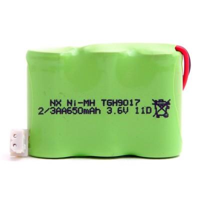 Batterie téléphone fixe 3*2/3AA 3.6V 650mAh Conn