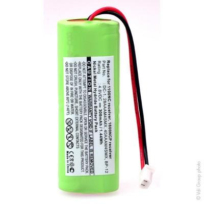 Batterie collier pour chien 4.8V 300mAh