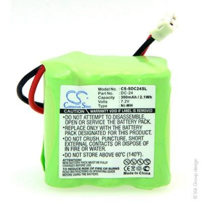 Batterie collier pour chien 7.2V 300mAh