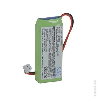 Batterie collier pour chien 1S1P 7.4V 500mAh