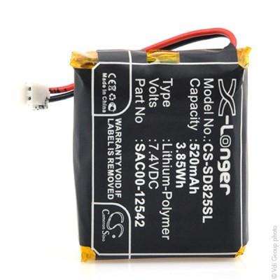Batterie collier pour chien 1S1P 7.4V 520mAh