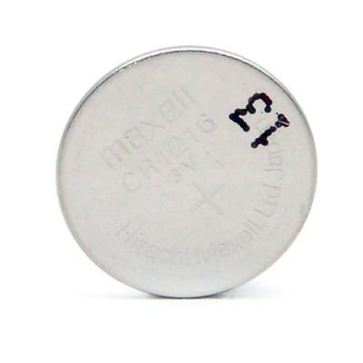 Pile bouton lithium blister CR1216 MAXELL 3V 25mAh