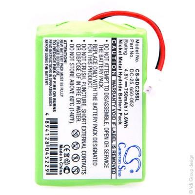 Batterie collier pour chien 4.8V 750mAh