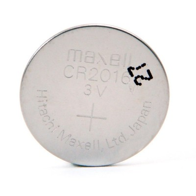 Pile bouton lithium blister CR2016 MAXELL 3V 90mAh