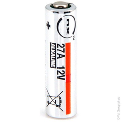 Pile alcaline blister x1 Nx-Power Tech 27A 12V 21mAh