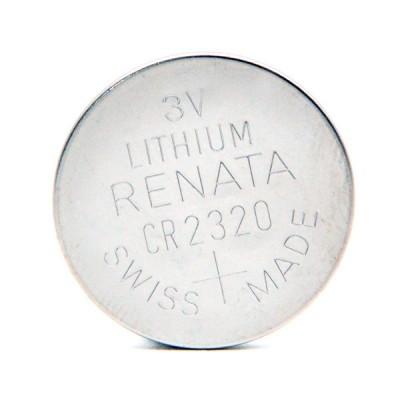 Pile bouton lithium blister CR2320 RENATA 3V 150mAh