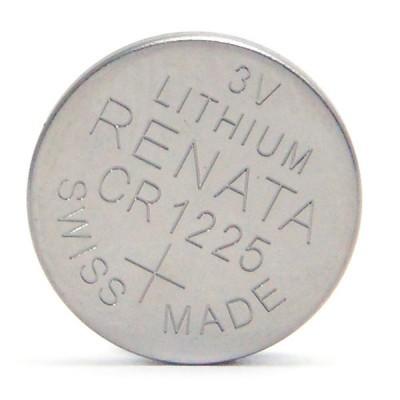 Pile bouton lithium blister CR1225 RENATA 3V 48mAh