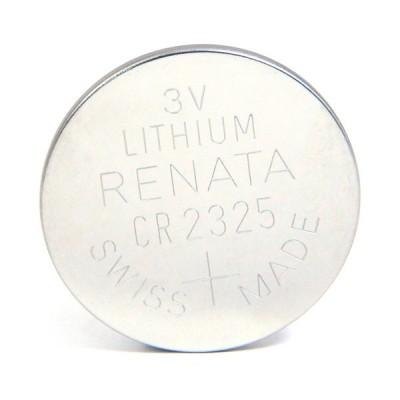 Pile bouton lithium blister CR2325 RENATA 3V 190mAh