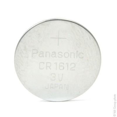 Pile bouton lithium CR1612/BN PANASONIC 3V 40mAh