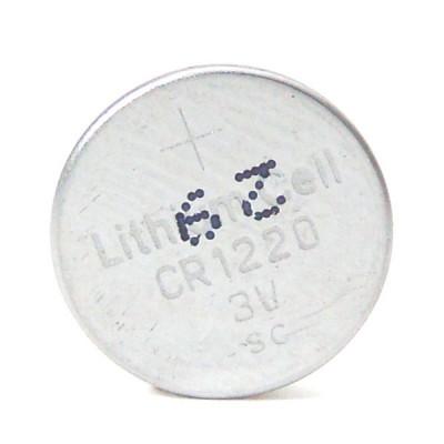 Pile bouton lithium CR1220 3V 35mAh