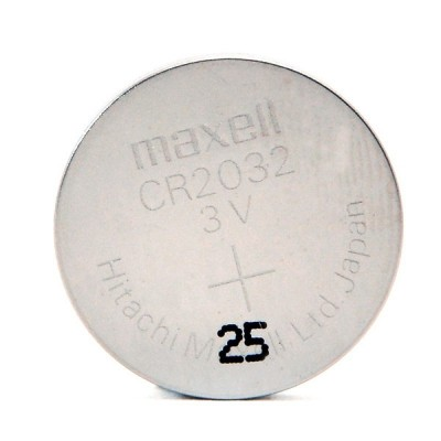 Pile bouton lithium CR2032 MAXELL 3V 220mAh
