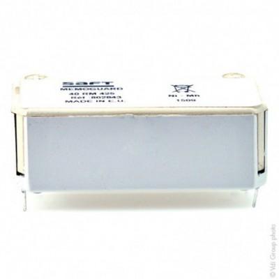 Accus Nimh industriels Memoguard 40RM425 4.8V 250mAh CI -