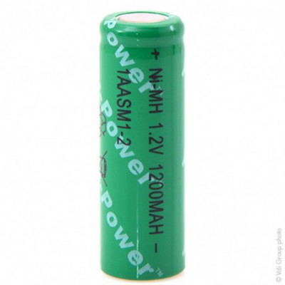 Accus Nimh industriels 4-5AA 1AASM1-2 1.2V 1200mAh FT