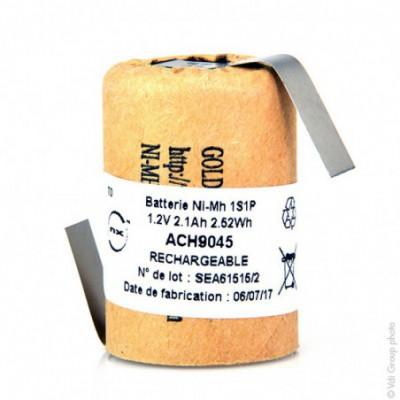 Accus Nimh industriels 4-5SC CARTONNE 1.2V 2100mAh HBL