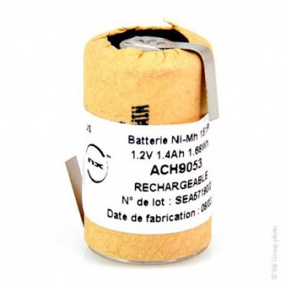 Accus Nimh industriels 2-3A HD 1.2V 1.4Ah HBL
