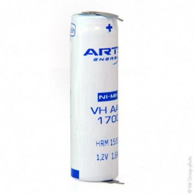 Accus Nimh industriels AA 1.2V 1.7Ah P2