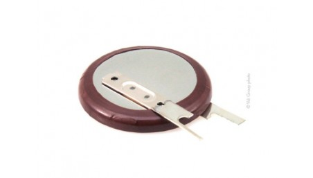 Accu bouton Lithium Ion industrie