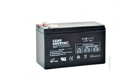 Batterie lead crystal
